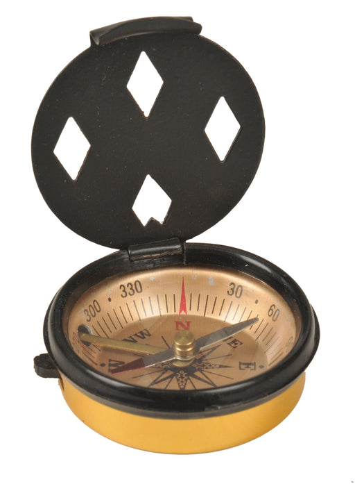 Pocket Compass with Cover