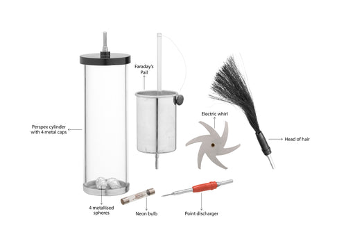 Accessory Pack for Eisco Van de Graaff