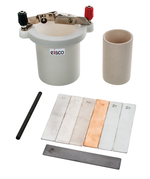 Eisco Labs Student Voltaic Cell & Porous Cup with Experiment Guide