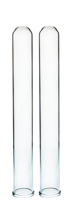 Eisco Labs 25ml Borosilicate Test tubes with inverse scale and graduations