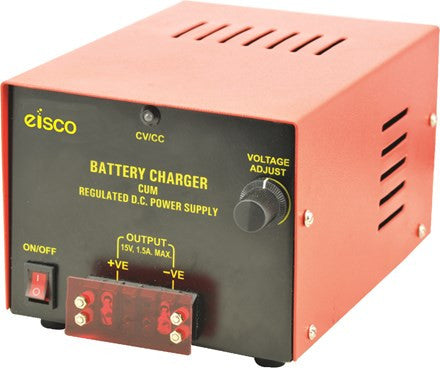 Battery Charger, 6 Amp.