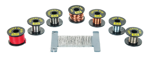 Hobbyist Wire Box Kit - Eureka, Constantan, Copper, Iron, and Nichrome Wire in Box