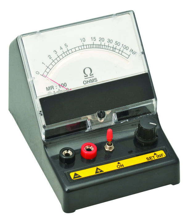 Ohm's Meter, SERIES Type 0 - 100?