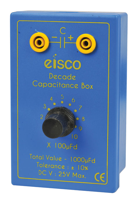 Decade Capacitance Box