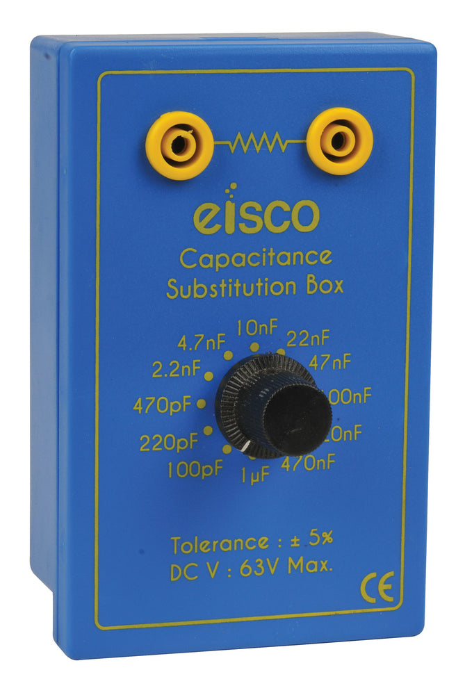 EISCO Capacitance Substitution Box