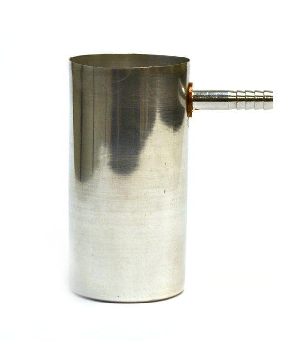 "4"" Aluminum Overflow Can, Box of 2"