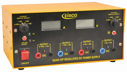 Power Supplies Quad Output Regulated DC
