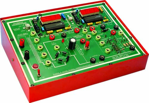 Diode / Zener diodes characteristics Trainer Board