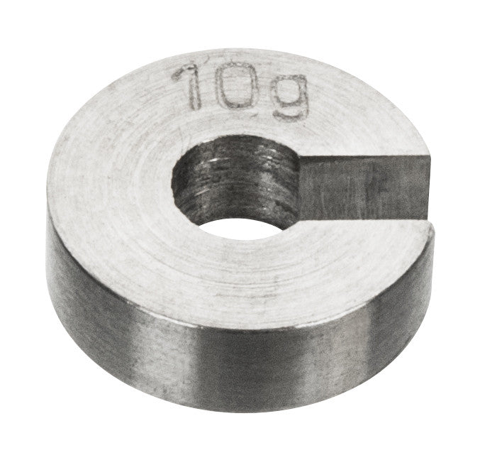 Masses Slotted Spare - Stainless Steel, 10 g