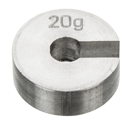 Masses Slotted Spare - Stainless Steel, 20 g