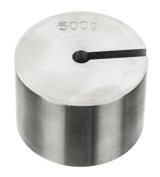 Masses Slotted Spare - Stainless Steel, 500 g