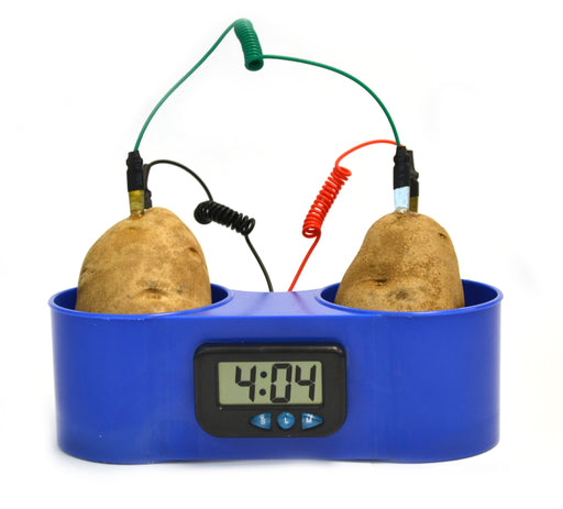 Premium Potato Clock with Activity Guide and Instructions