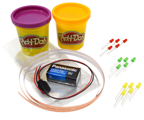 Eisco Science Fair Kits,  Modeling Dough Circuits