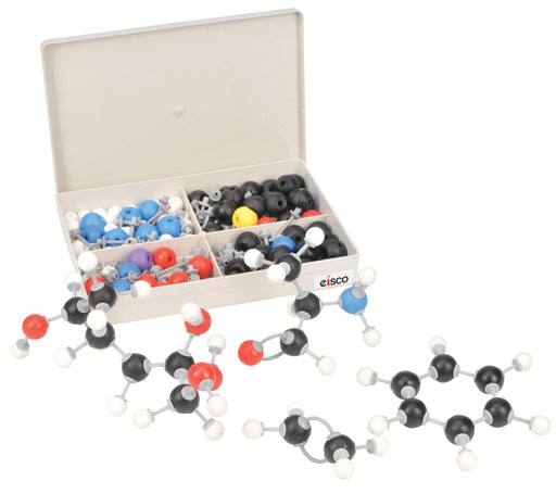 Eisco Labs Molecular Model Set - Biochemistry Student - 135 Pieces