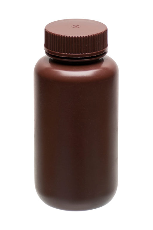 REAGENT BOTTLES (WIDE MOUTH) AMBER 125ML (Discontinued)