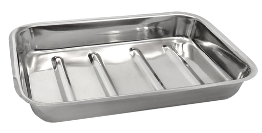 "Dissection Tray, 12"" x 8"" - High Quality Stainless Steel - Eisco Labs"
