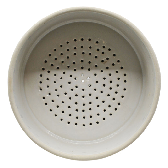 Buchner Funnel, 15cm - Porcelain - Straight Sides, Perforated Plate