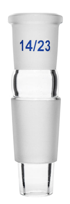 Reduction Adapter - Socket Size: 14/23 - Cone Size: 24/29 - Borosilicate Glass - Eisco Labs