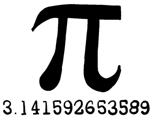 Pi Vinyl Decal