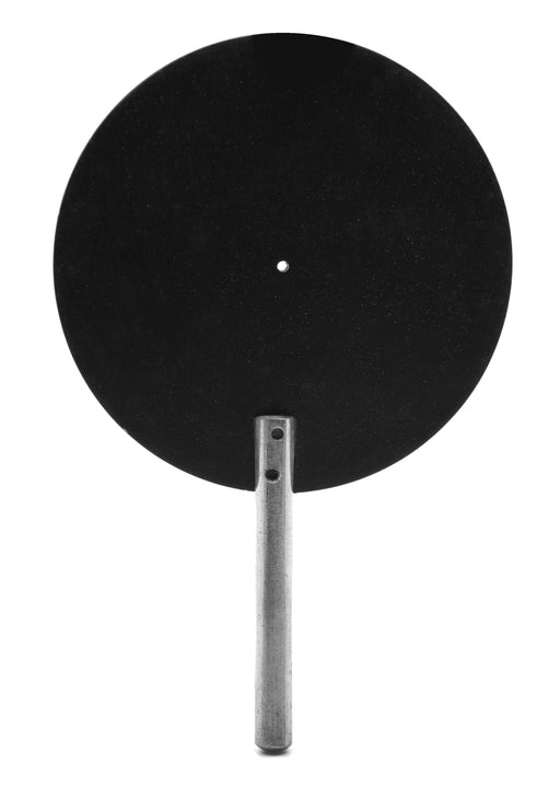 "Pinhole Screen, 3"" Diameter, Black - 0.6mm Pinhole - Eisco Labs"