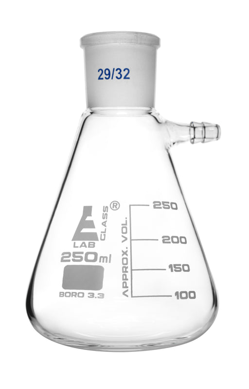 Buchner Filtering Flask, 250ml - 29/32 Joint - Borosilicate Glass