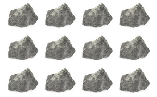 12 Pack - Raw Greywacke, Sedimentary Rock Specimens - Approx. 1""