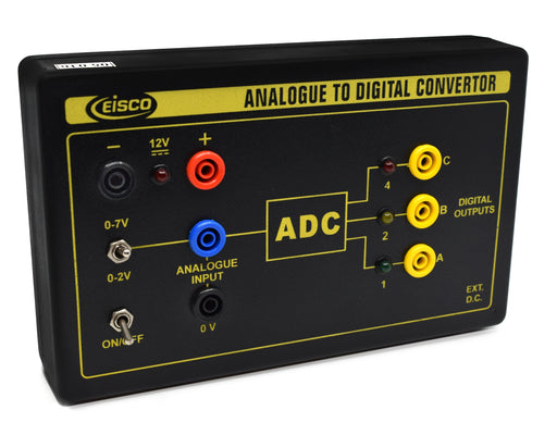 Analog to Digital Convertor - Great for Demonstrating the basis of Digital Communications - Eisco Labs
