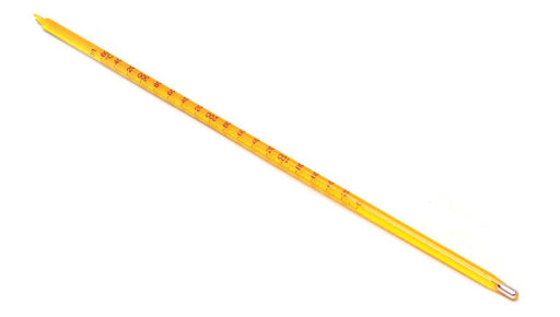 Thermometer (-10 to 110 C) - Red/Blue - 12 inches long - Eisco Labs