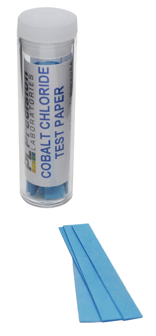 100PK Cobalt Chloride Papers For Testing Water Presence & Humidity