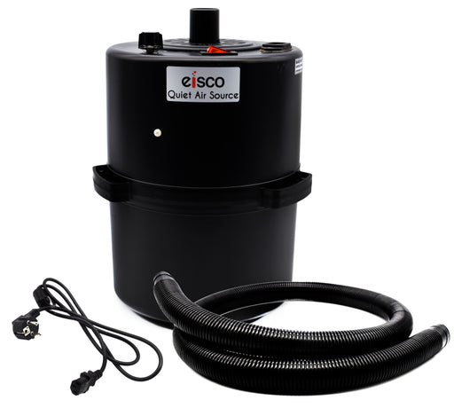 Air Blower with Hose, 220V - Perfect for Laboratory, Home, Barn, Garage and Workshop Use - Quiet - Eisco Labs