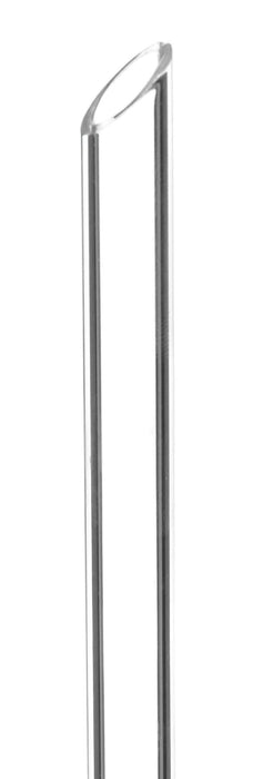 Heavy Filter Funnel, 125mm - Plain Stem, 16mm - Thick, Uniform Walls - Borosilicate Glass - Eisco Labs