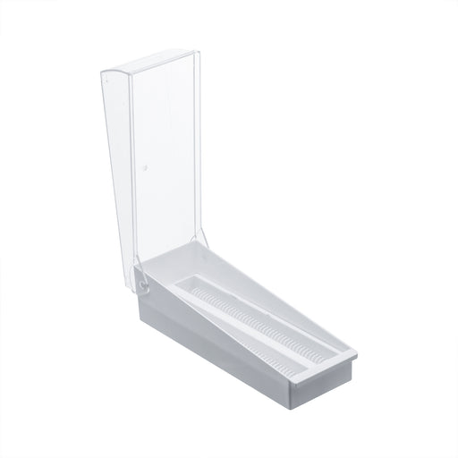 Slide Storage Rack - for 100 slides - With Transparent Cover