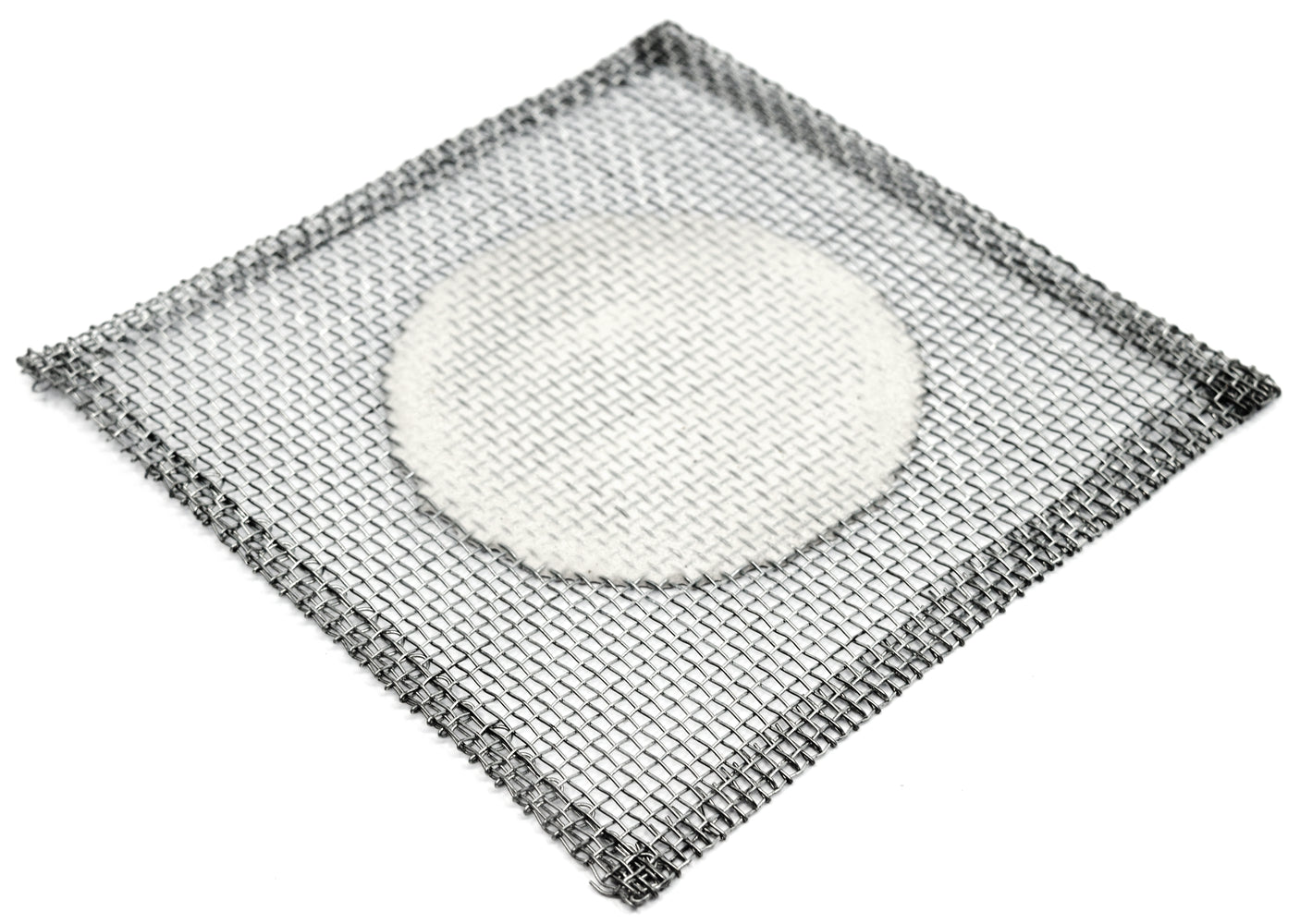 "10PK Iron Wire Gauze Squares, 5x5"" - 3"" Ceramic Center - 100% Free of Harmful Chemicals, Asbestos Free - Eisco Labs"