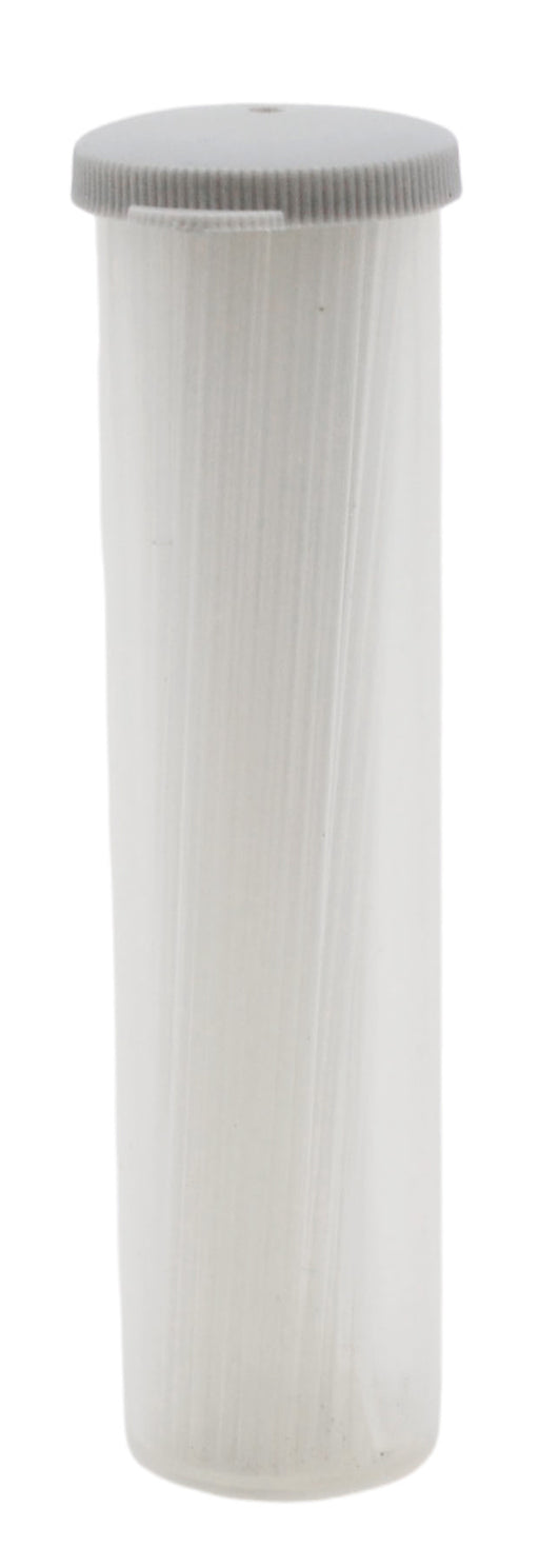 100PK Microhematocrit Capillary Tubes, 100mm - 13mm ID - Open Both Ends - Borosilicate 3.3 Glass - Non-Heparinized