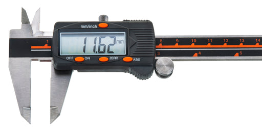 "Premium Digital Vernier Caliper, 0.001"" Accuracy, Includes Storage or Gift Case, Hardened Stainless Steel - Eisco Labs"