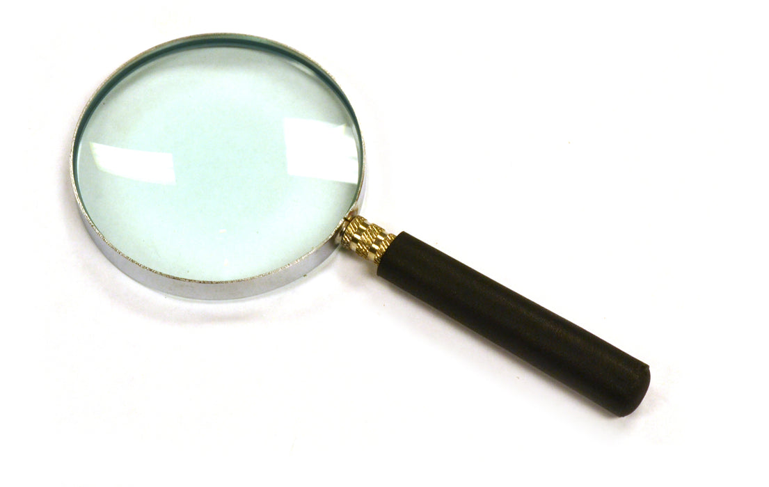 "Magnifying Glass, 2.5x Magnification - Lab Quality, 3"" diameter, 6"" Focal Length - Eisco Labs"