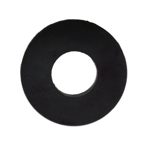 "Ceramic Ring Magnet, 0.66"" (18mm) OD, 0.27"" (8mm) ID, 3mm thickness - Eisco Labs"