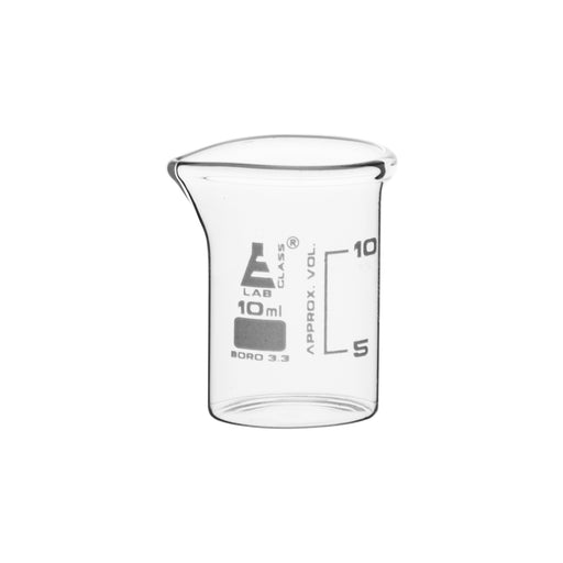 Beakers - Glass - ASTM 10ml