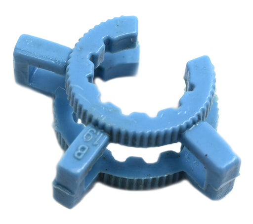 Joint Clip, 19/26 - Chemical & Temperature Resistant, Standard Taper - Blue, Single Clip - Eisco Labs