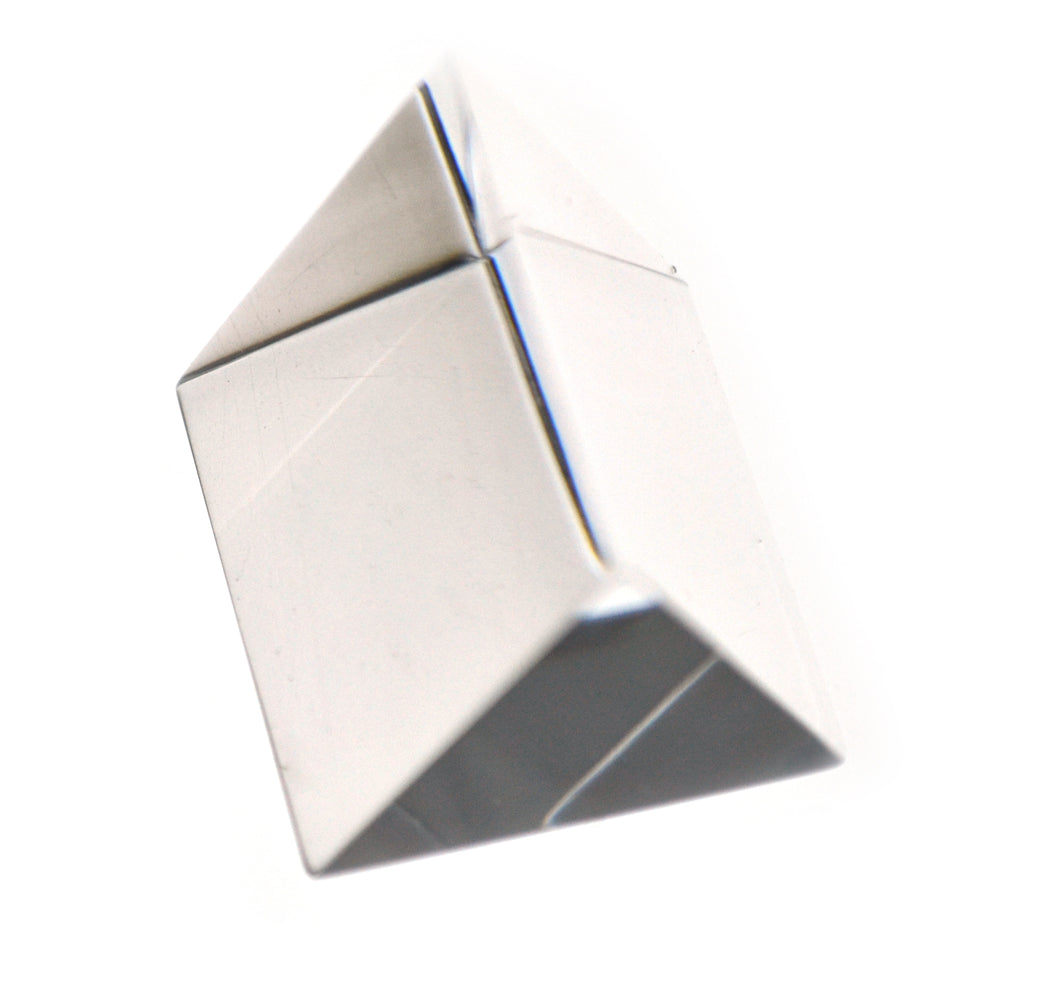 Equilateral Prism, 25mm Length, 25mm Face Size - Acrylic - Eisco Labs