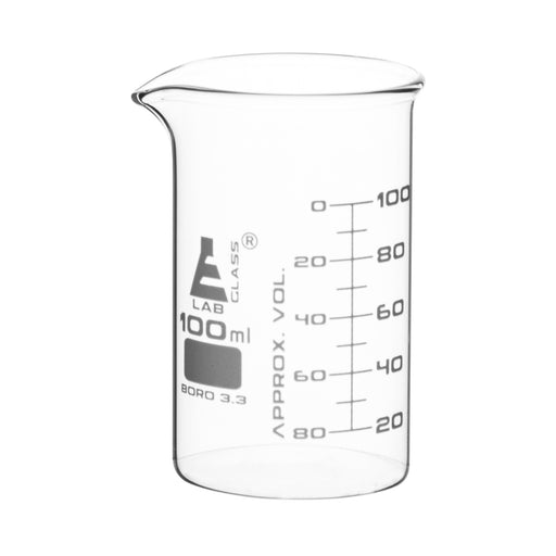Beakers - Glass - ASTM - Tall Form 100ml