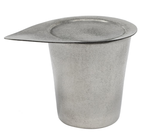 Crucible & Lid, 50ml - Nickel - Withstands Temperatures up to 1000??C - Eisco Labs
