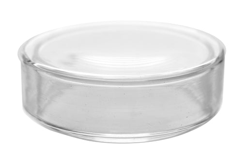 "Petri Dish, 2"" (50mm) - Beaded Edges - Easy to Sterilize for Repeated Use - Borosilicate Glass - Eisco Labs"