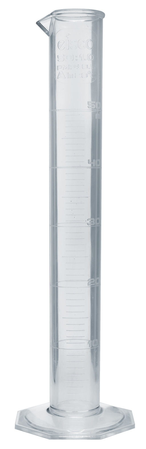 Measuring Cylinder, 50ml - Class A - TPX