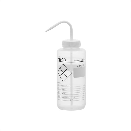 Performance Plastic Wash Bottle, Blank Label, 1000 ml