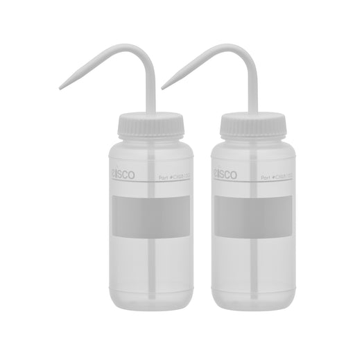 2PK Performance Plastic Wash Bottle, No Label, 500 ml