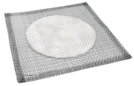 "10PK Iron Wire Gauze Squares, 6x6"" - 4"" Ceramic Center - 100% Free of Harmful Chemicals, Asbestos Free - Eisco Labs"