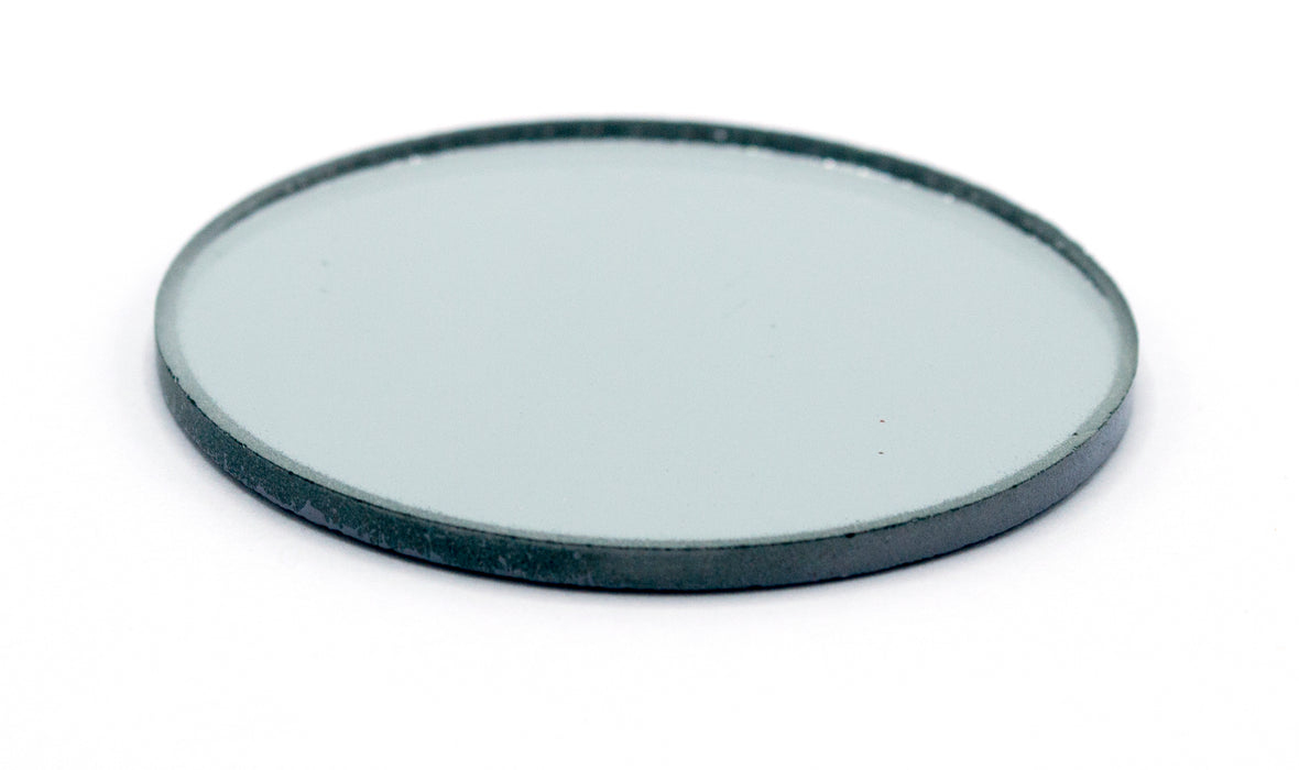 "Concave Mirror - 2"" dia., 300mm Focal Length - 1.8mm Thick - Glass - Eisco Labs"
