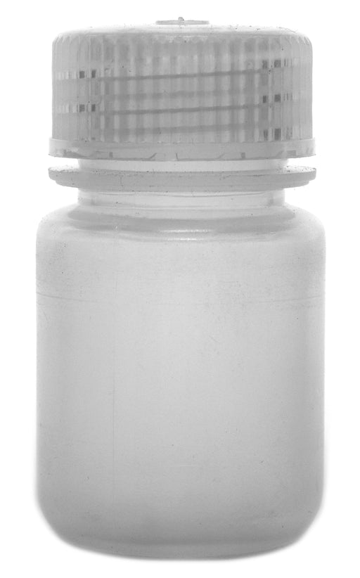 Reagent Bottle, 30ml, Wide Neck, Rigid Autoclavable Polypropylene - Eisco Labs