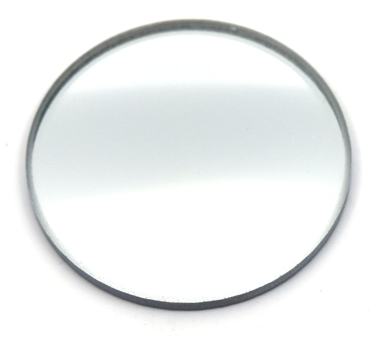 "Convex Mirror, 1.5"" dia., 50mm Focal Length - Glass - Eisco Labs"